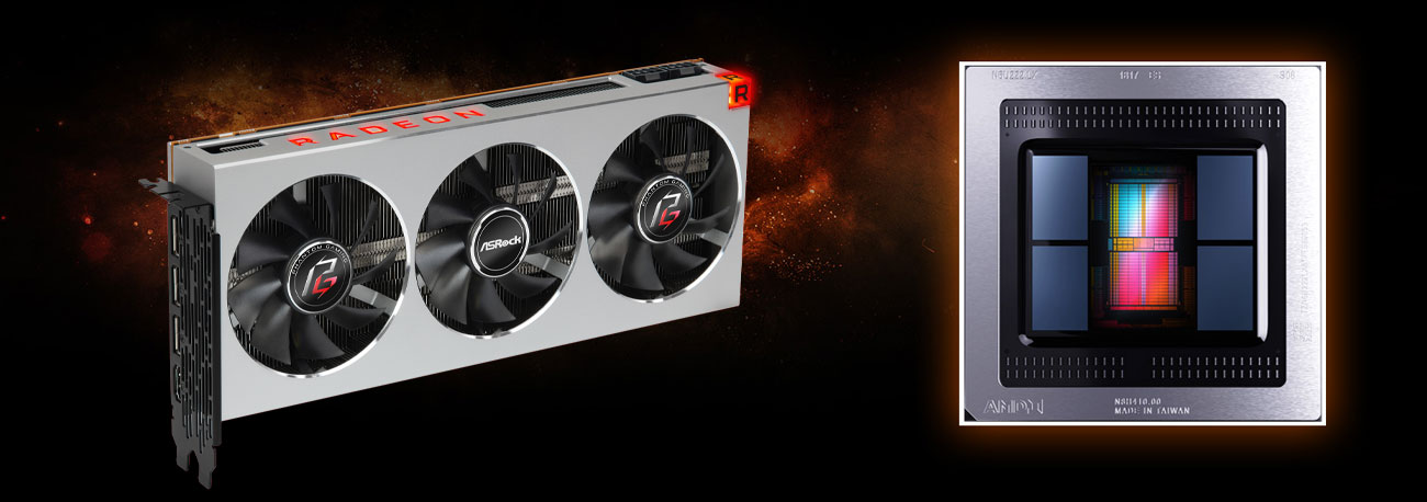 ASRock Phantom Gaming X Radeon VII - 7nm proces technologiczny