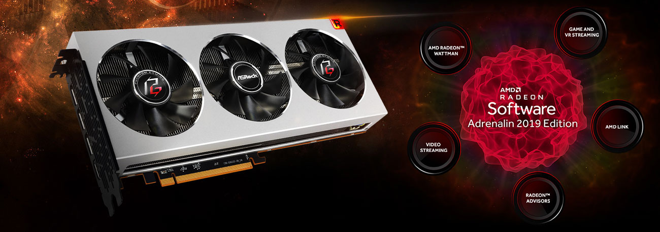 ASRock Phantom Gaming X Radeon VII - Adrenalin 2019 Edition