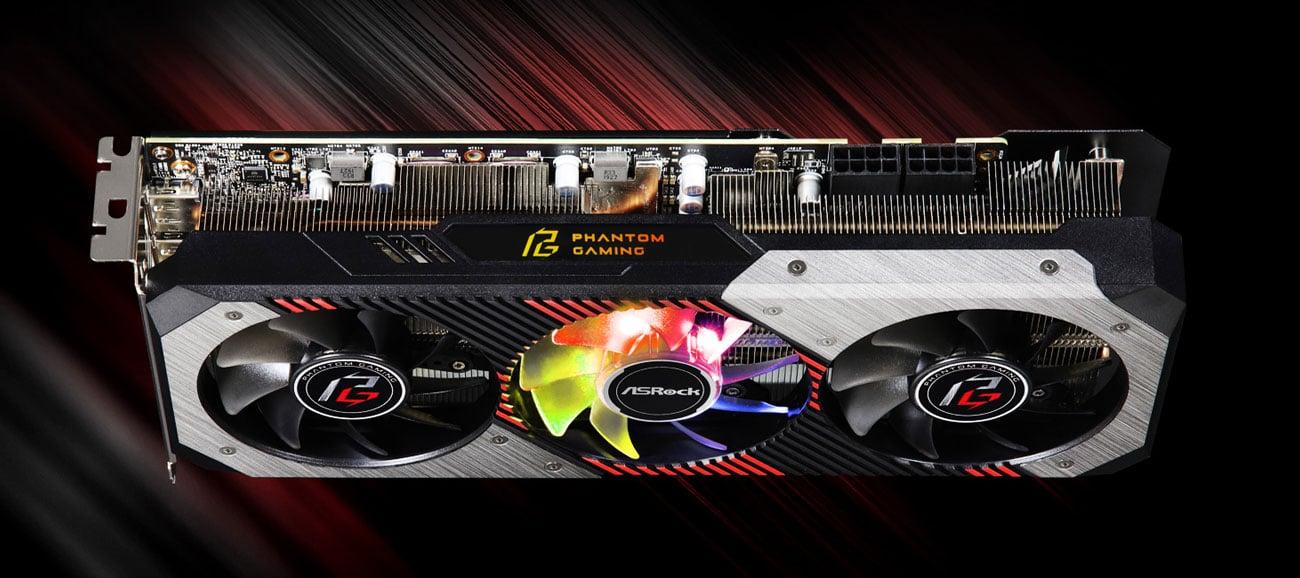 ASRock Radeon RX 5700 XT Phantom GAMING D OC - Chłodzenie