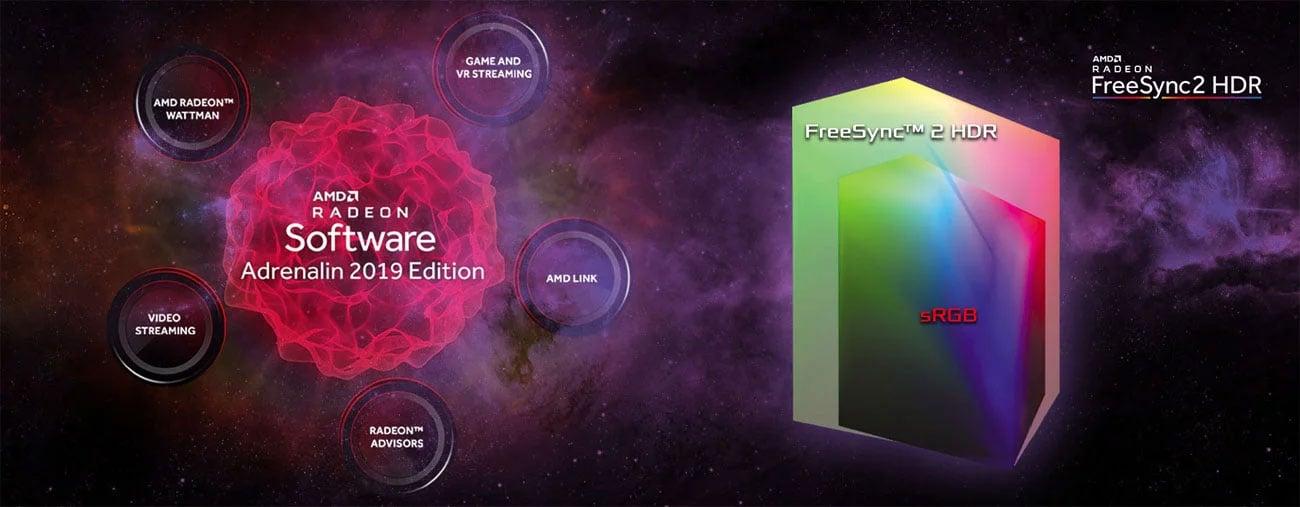 Radeon Software Adrenalin 2019 Edition, AMD FreeSync 2 HDR
