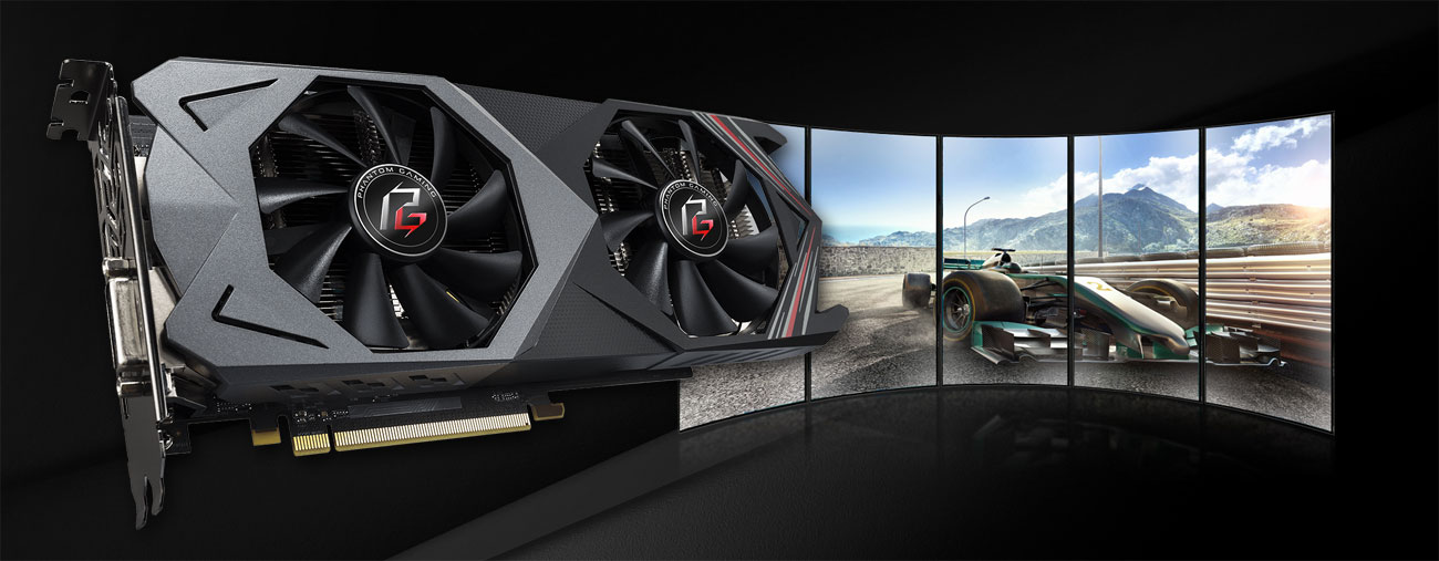 ASRock RX 590 Phantom Gaming X OC AMD Eyefinity