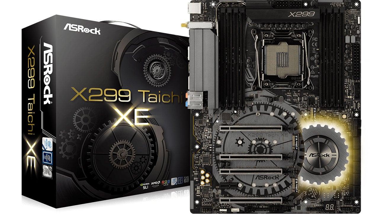 Płyta główna Socket 2066 ASRock X299 TAICHI XE PCI-E DDR4 USB 3.1 / M.2