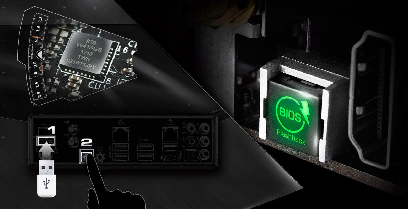 ASRock X299 TAICHI XE Oveclocking BIOS Flashback