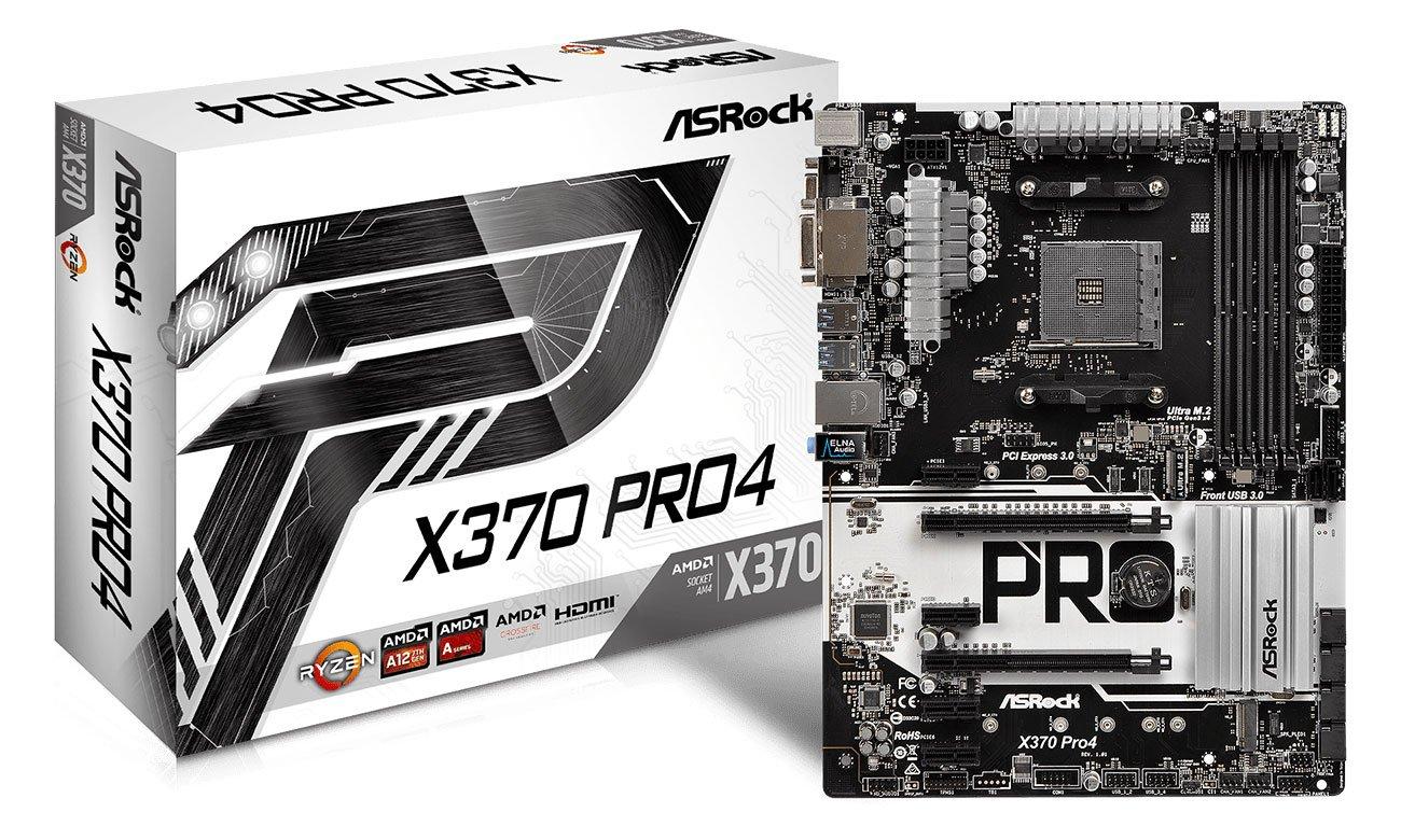ASRock X370 Pro4 Wytrzymała płyta główna do overclockingu
