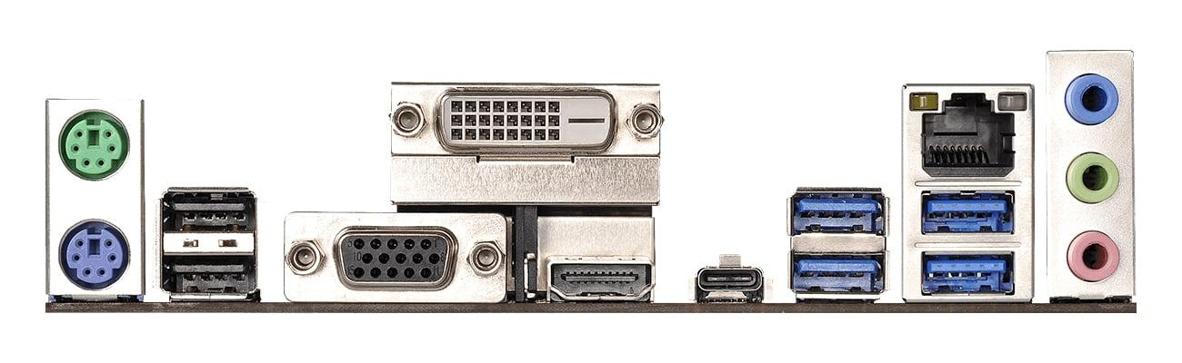 ASRock X370M Pro4 Obsługa do trzech monitorów