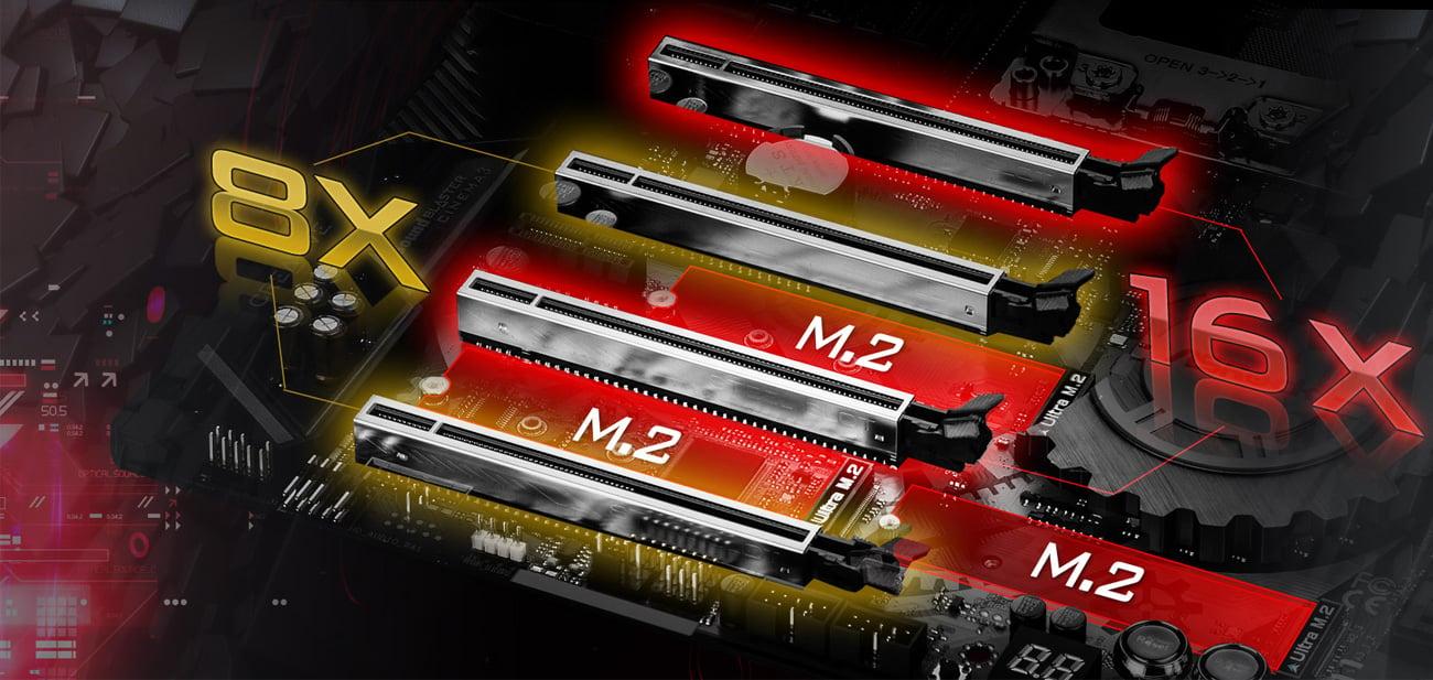 ASRock X399 TAICHI Ultra M.2 PCIe Steel Slot