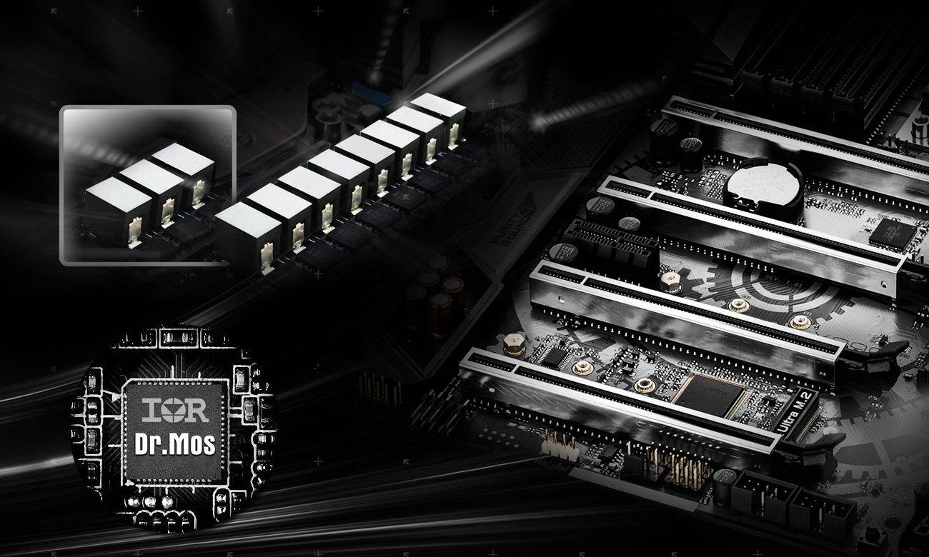 ASRock X399 TAICHI 11-fazowy system zasilania