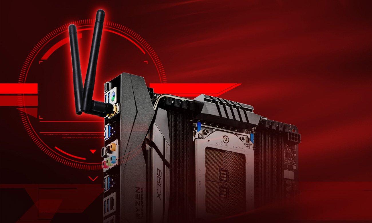 ASRock X399 TAICHI Intel® LAN Wi-Fi 802.11ac Dual Band