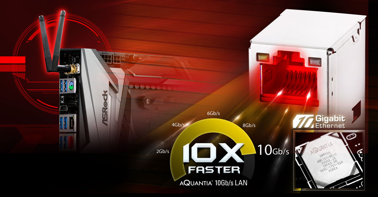 ASRock X470 Taichi Ultimate LAN 10 Gb/s i Wi-Fi AC