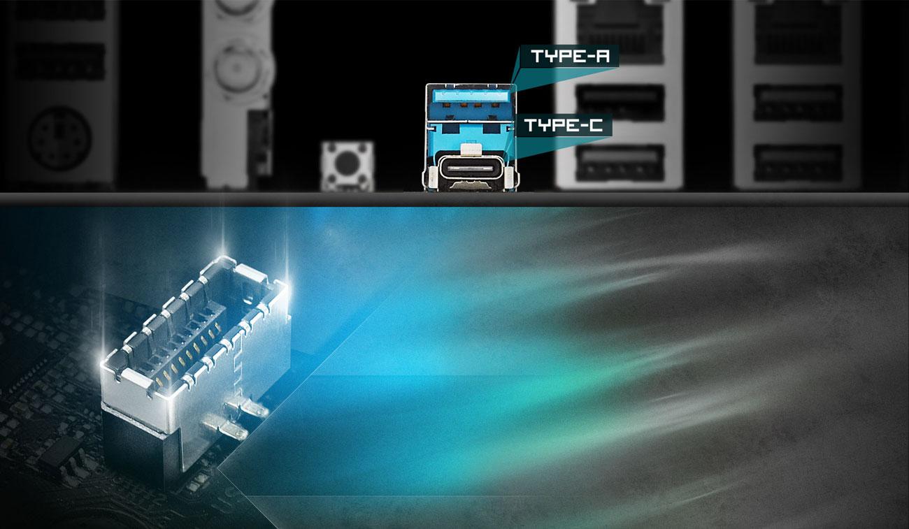 ASRock X470 Taichi Ultimate USB 3.1 Gen2 Typu C