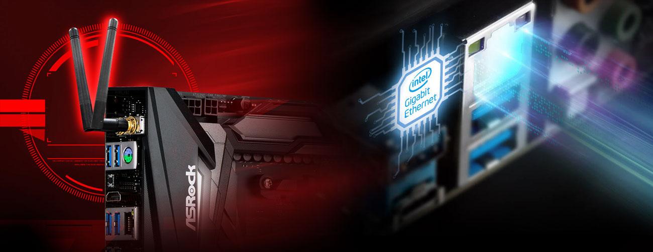 ASRock X470 Taichi Sieć LAN i Wi-Fi