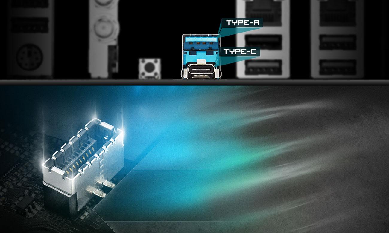 ASRock X470 Taichi Złącza USB