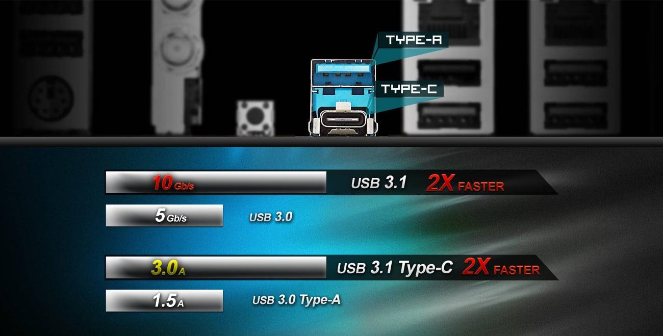 ASRock Z270 EXTREME4 USB 3.1 (Type-A + Type-C)