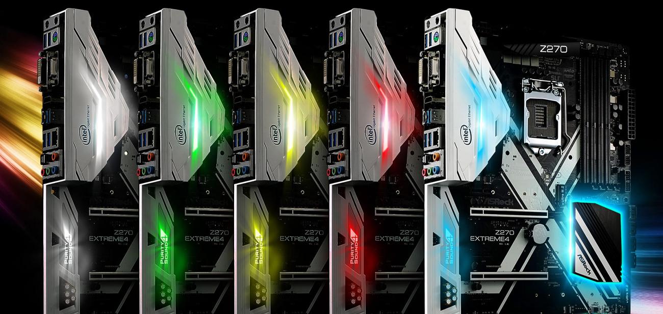 ASRock Z270 EXTREME4 Aura RGB LED