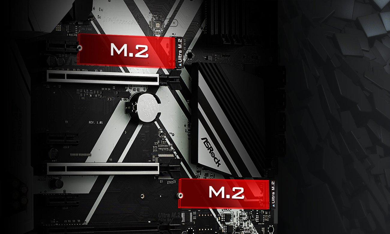 ASRock Z270 EXTREME4 sloty M.2 dla SSD