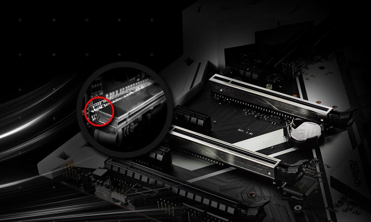 ASRock Z270 EXTREME4 stalowe sloty PCI-E