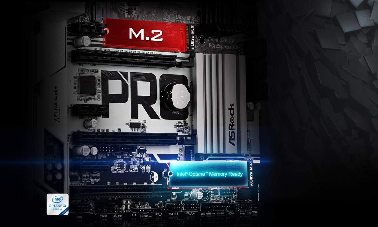 ASRock Z270 PRO4 sloty M.2 dla SSD