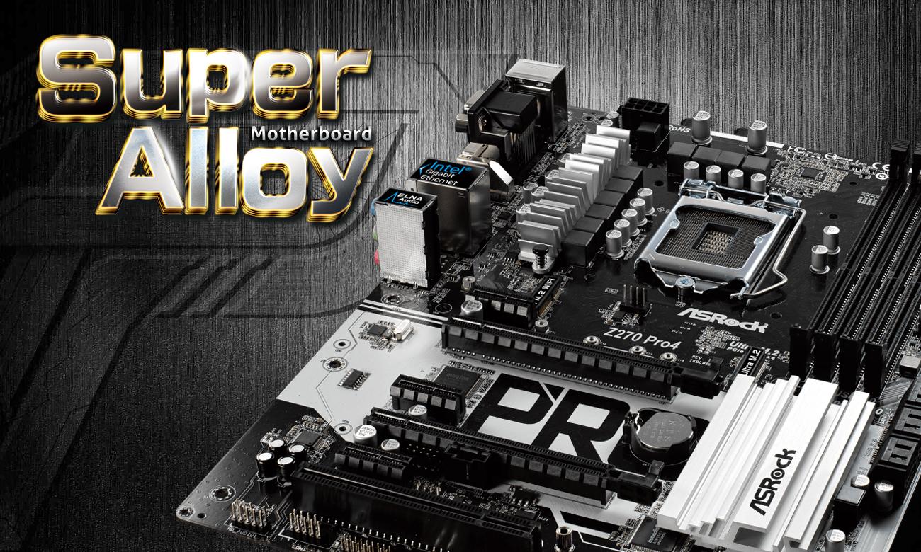 ASRock Z270 PRO4 Super Alloy