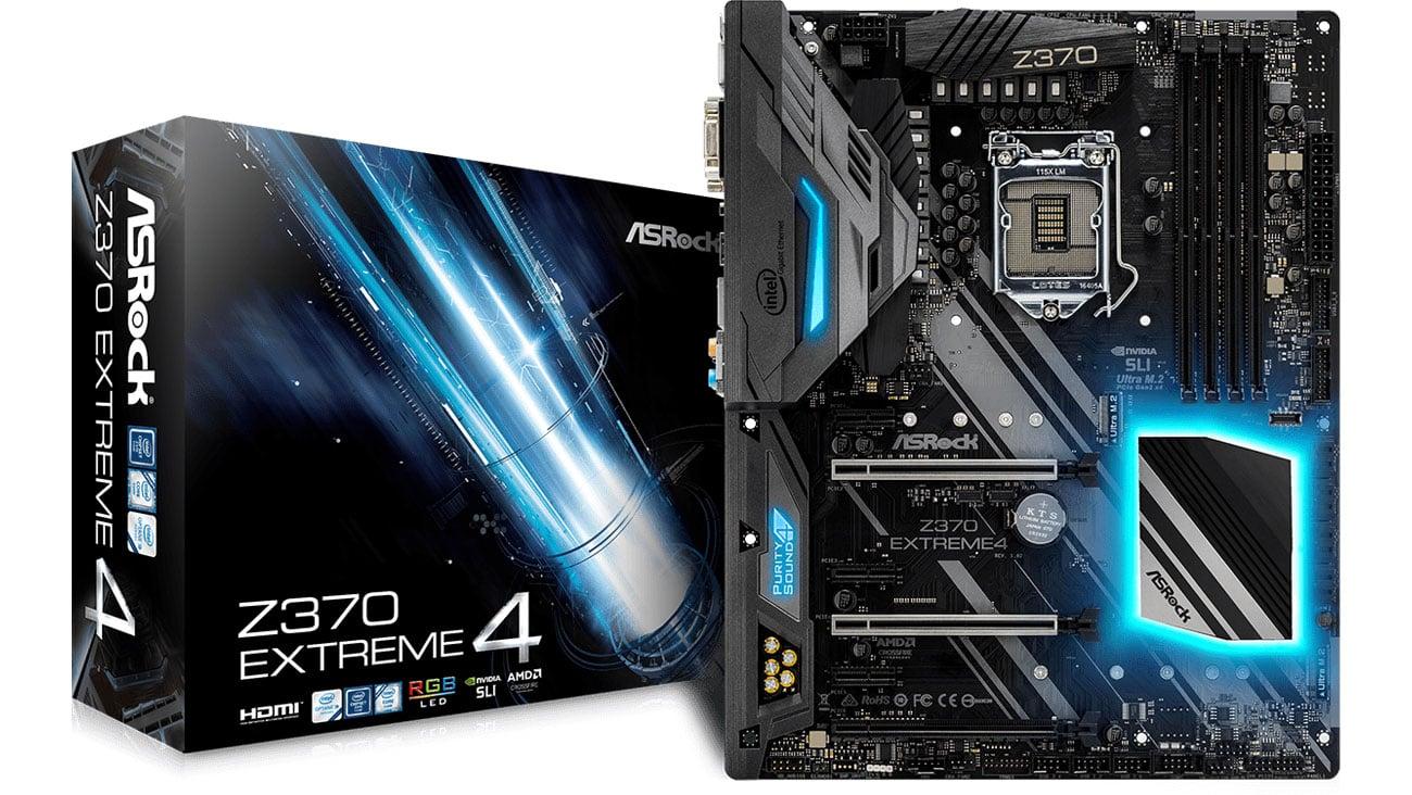 Płyta główna Socket 1151 ASRock Z370 Extreme4 2xPCI-E DDR4 USB3.1/M.2