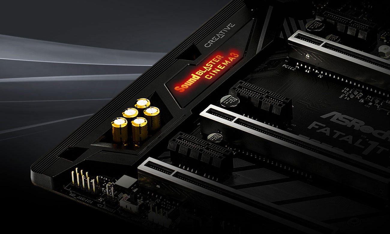 ASRock Z370 Gaming K6 Creative Sound Blaster Cinema 3