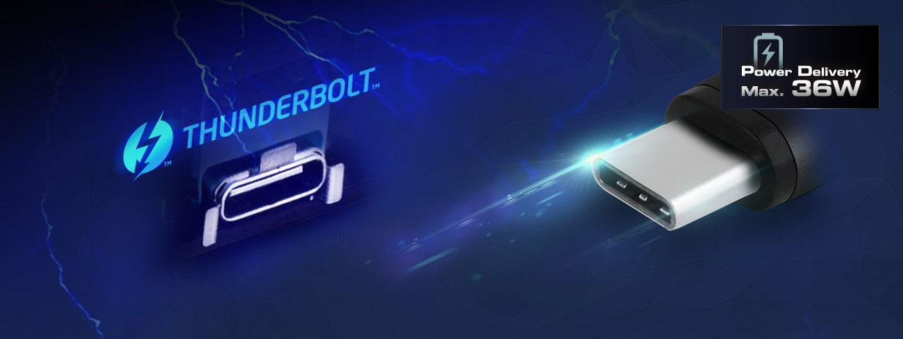 ASRock Fatal1ty Z370 Gaming-ITX AC Intel Thunderbolt 3 USB-C