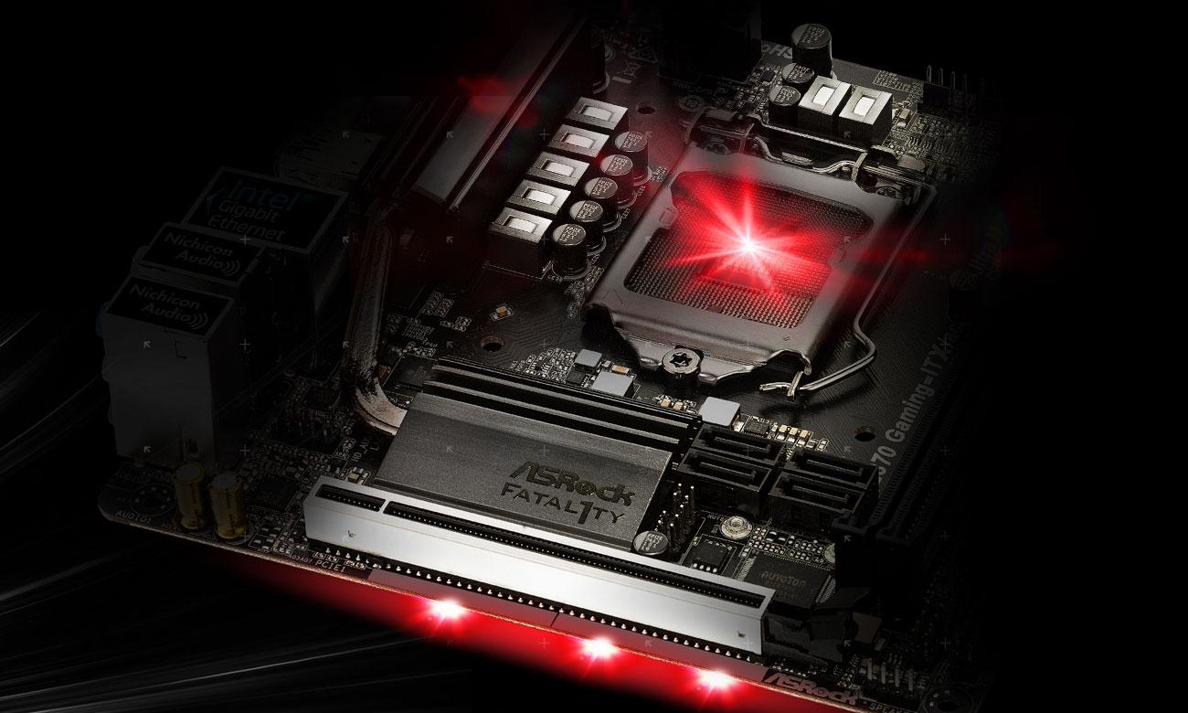 ASRock Fatal1ty Z370 Gaming-ITX AC Wzmocnienia