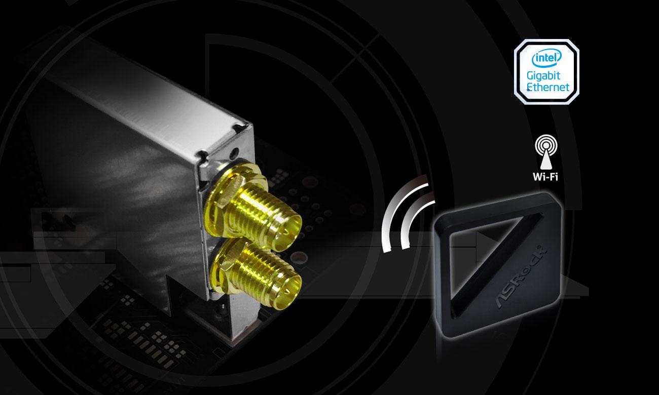 ASRock Fatal1ty Z370 Gaming-ITX AC Wi-Fi 802.11ac Intel Gigabit Ethernet