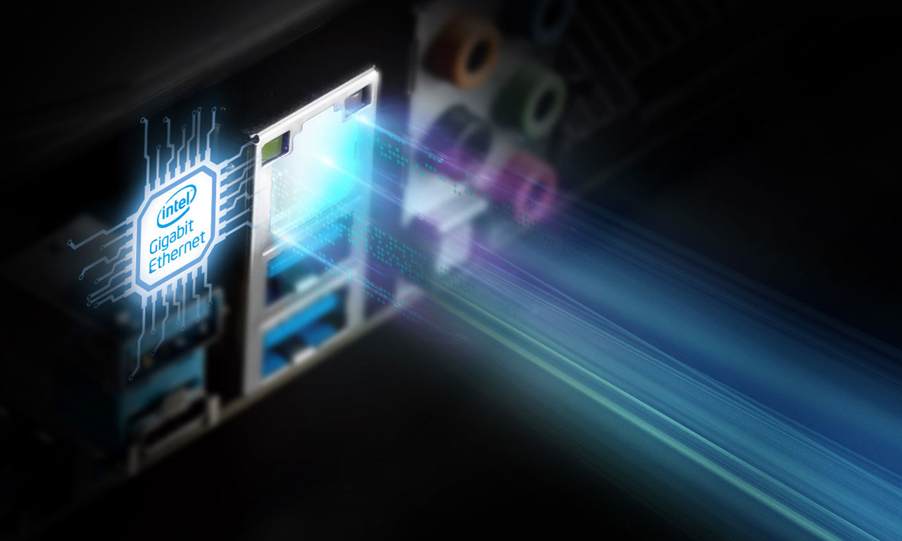 ASRock Z370 Pro4 Intel Gigabite Ethernet LAN