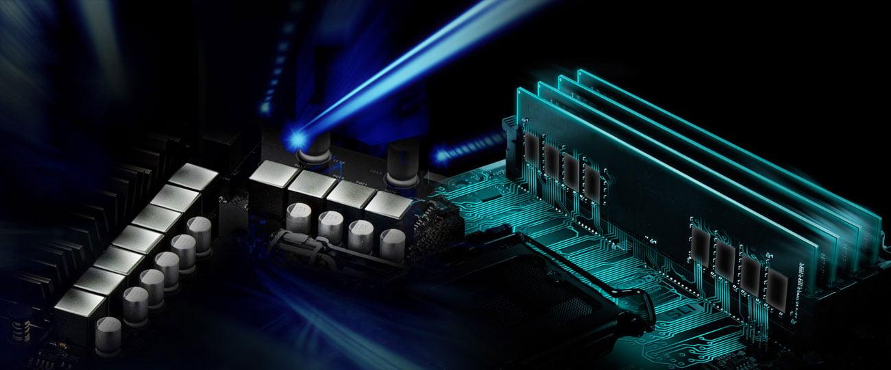 ASRock Z370M Pro4 Zasilanie, Hyper DDR4
