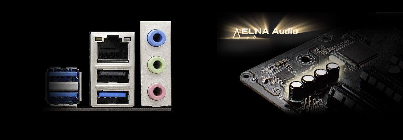 ASRock Z370M Pro4 ELNA Audio