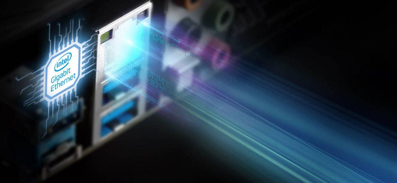 ASRock Z390 EXTREME4 Łączność Intel LAN