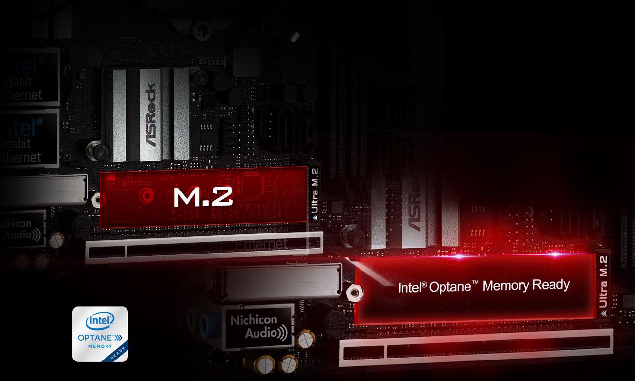 ASRock Z390M-ITX/AC Złącza M.2