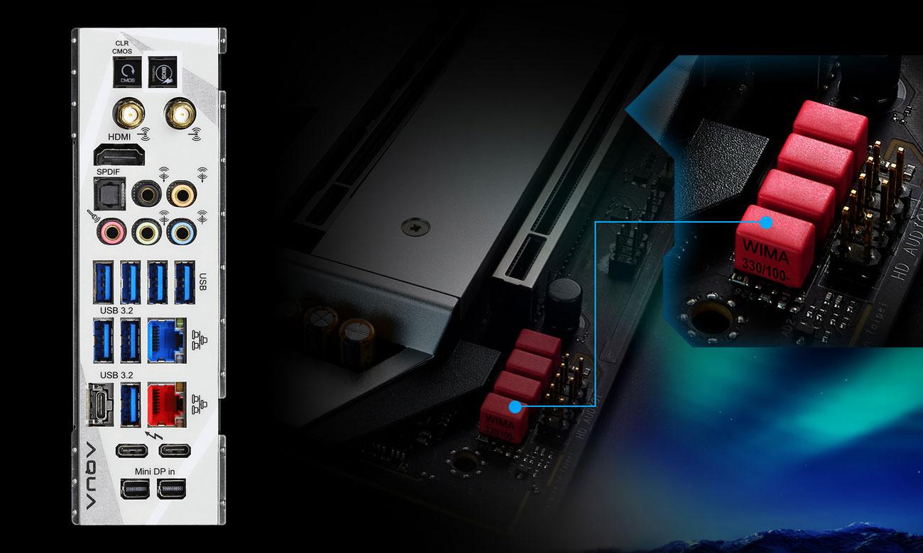 ASRock Z490 AQUA - Układ audio