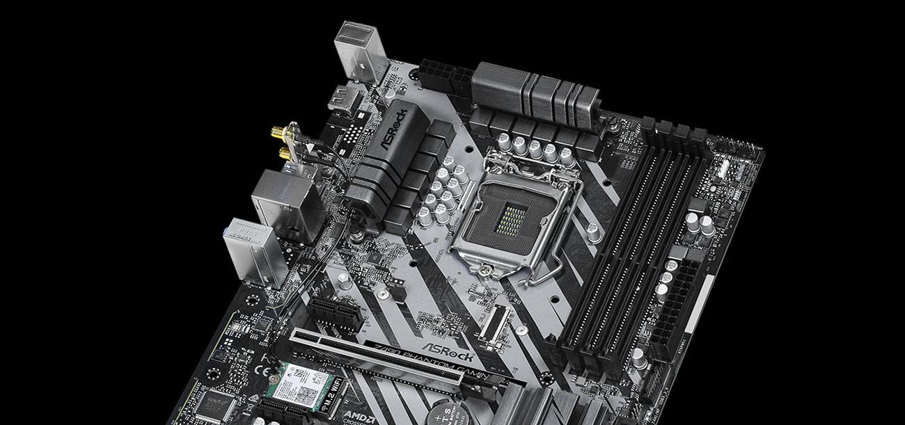 ASRock Z490 Phantom Gaming 4/ac - Sekcja zasilania