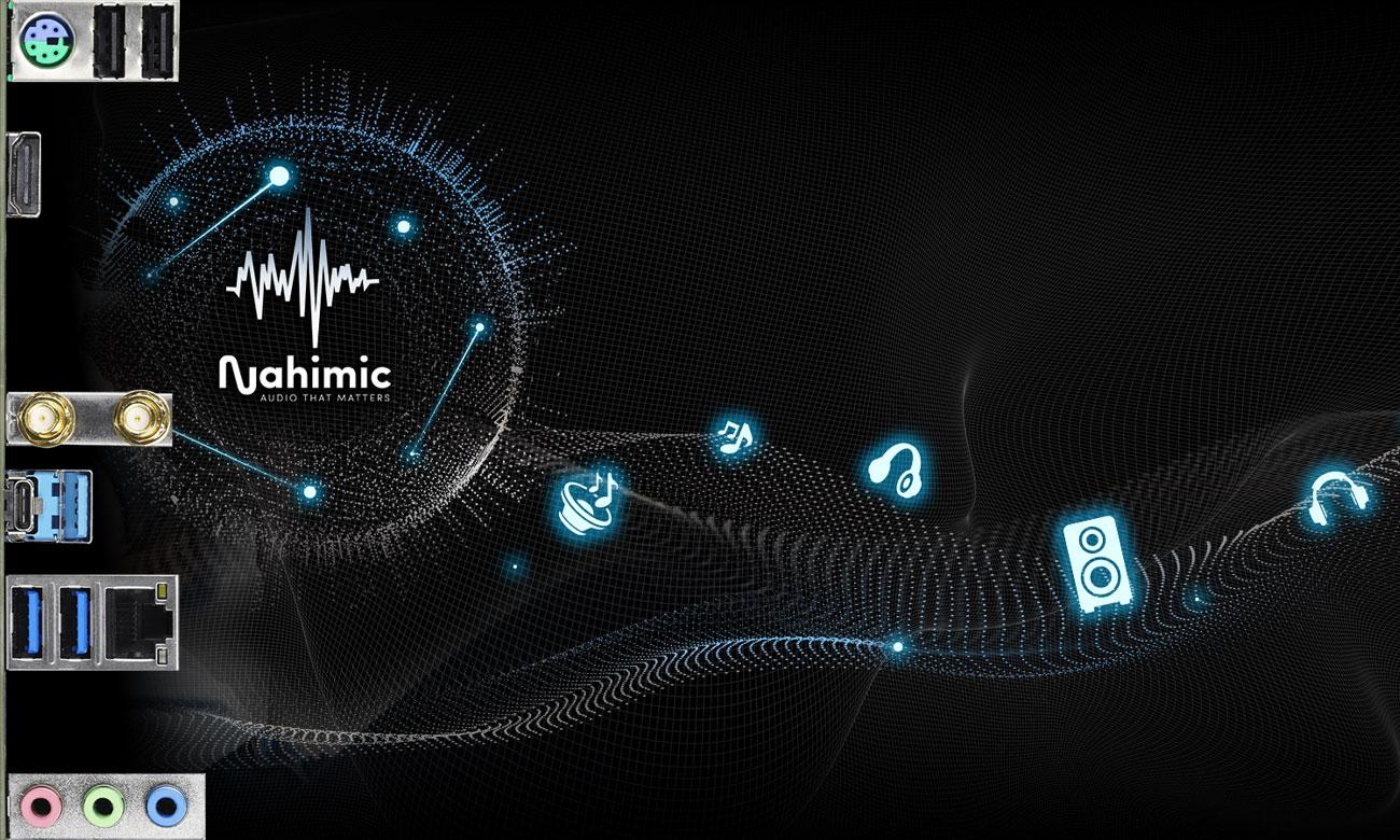 ASRock Z490 Phantom Gaming 4/ac - Układ Audio