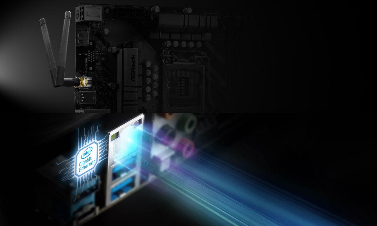 ASRock Z490 Phantom Gaming 4/ac - Łączność Wi-Fi LAN