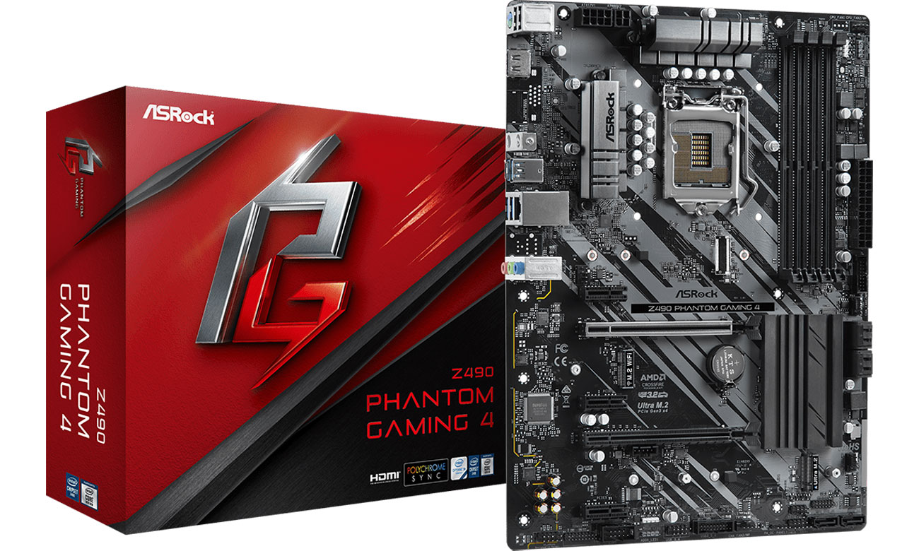 ASRock Z490 Phantom Gaming 4 - Płyta główna