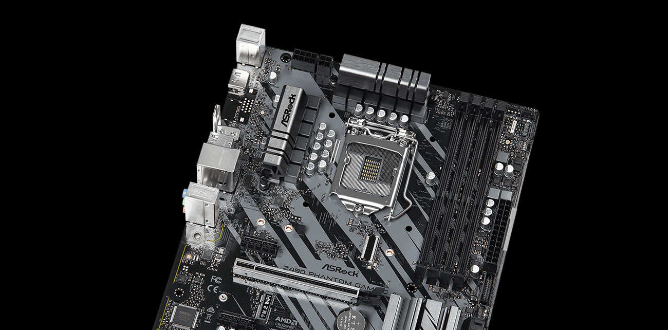 ASRock Z490 Phantom Gaming 4 - Sekcja zasilania