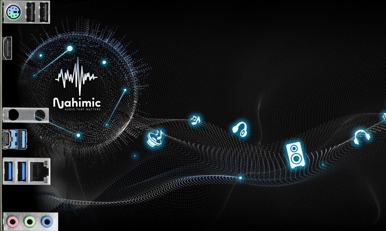 ASRock Z490 Phantom Gaming 4 - Układ Audio