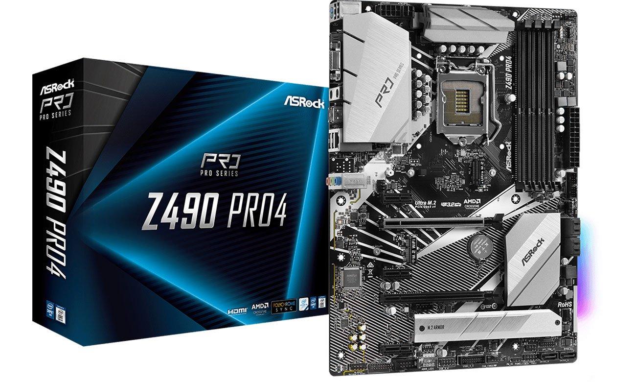 ASRock Z490 Pro4 - Płyta główna