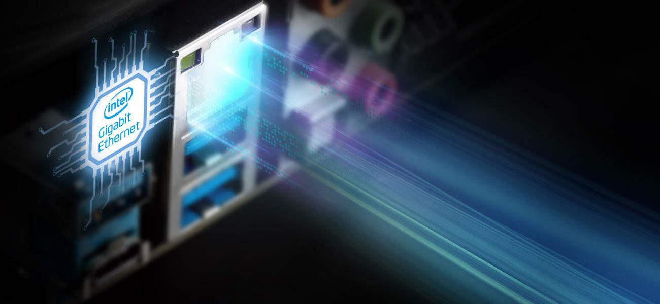 ASRock Z490M Pro4 - Złącze LAN