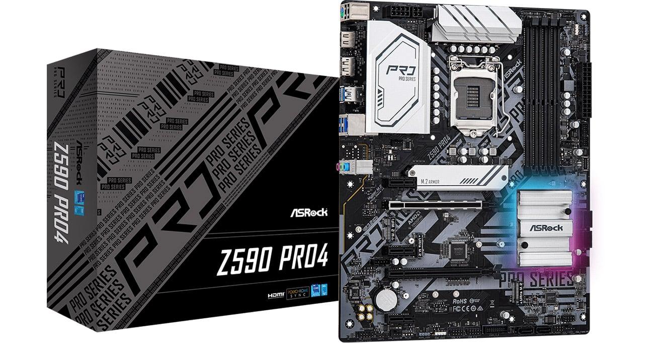 Płyta główna Socket 1200 ASRock Z590 Pro4