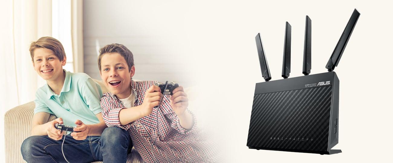 Router ASUS 4G-AC68U 1900Mbps a/b/g/n/ac 3G/4G (LTE) 4xLAN DualBand AC