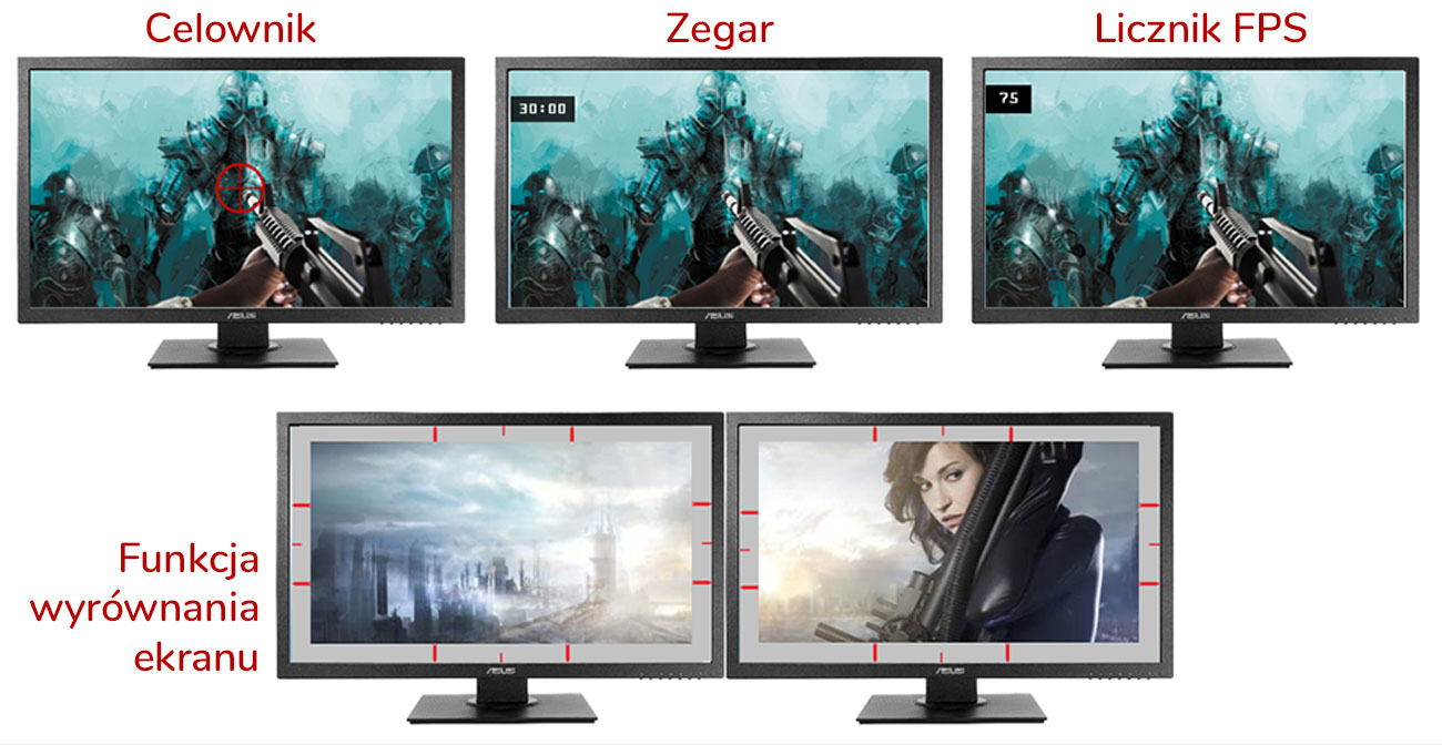 Monitor ASUS VP248HL Gaming