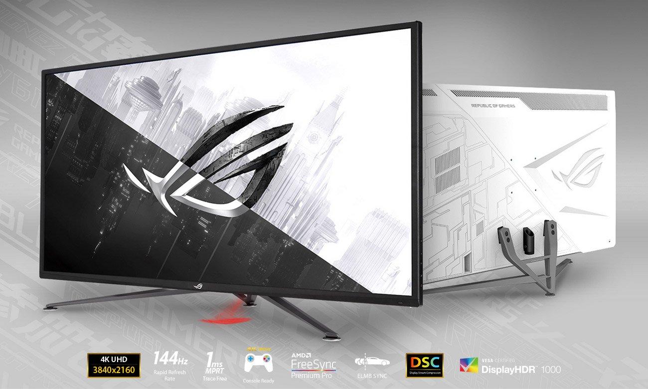 Monitor dla graczy ASUS ROG STRIX XG43UQ