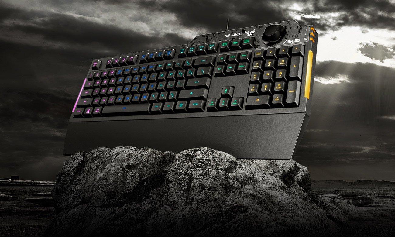 Dołącz do gry z klawiaturą ASUS TUF Gaming K3