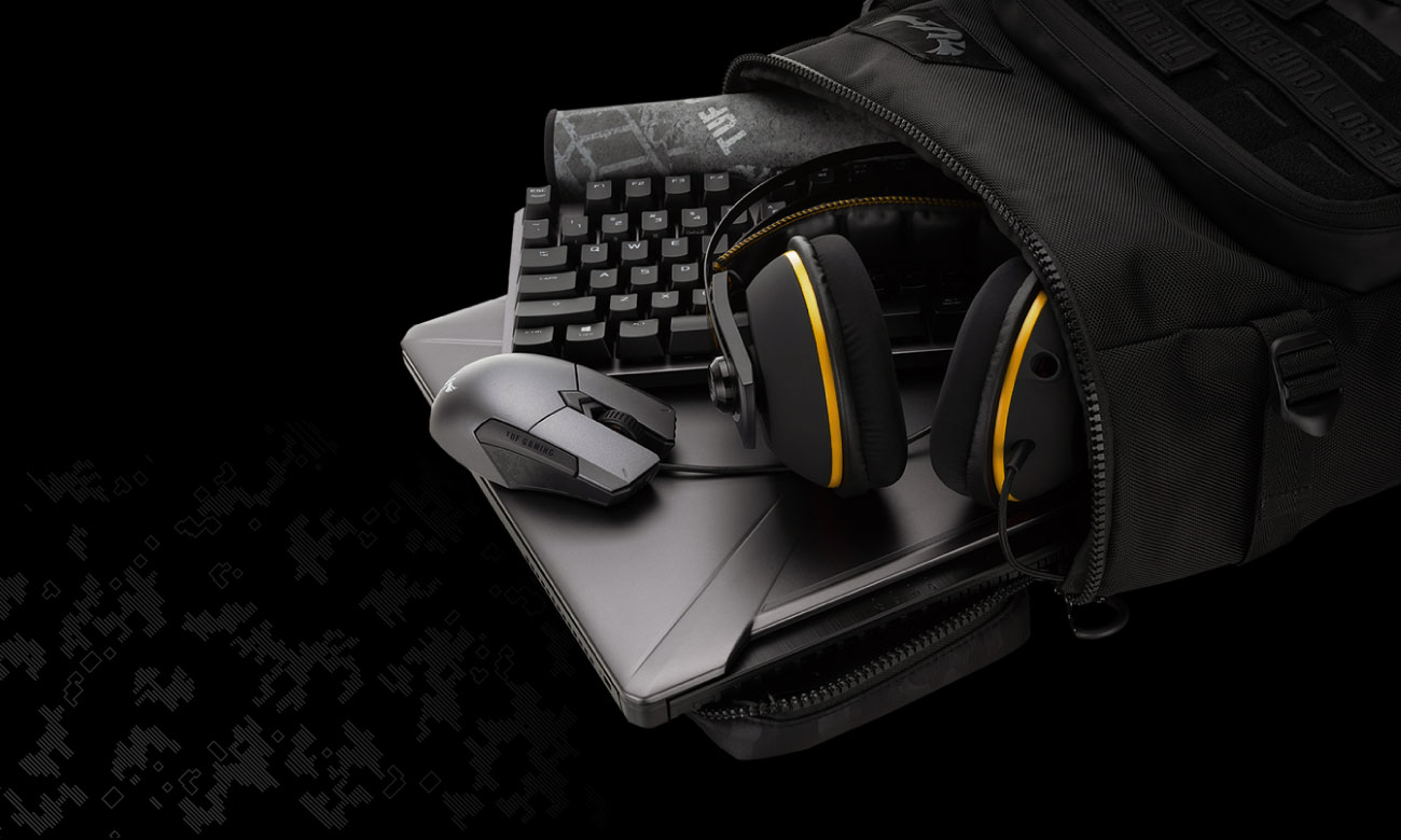 ASUS TUF Gaming BP2700 - Pojemność