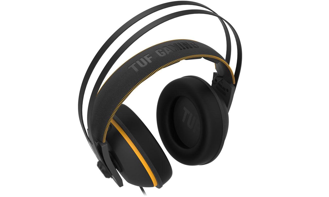Zestaw słuchawkowy ASUS TUF Gaming H7 Core żółty