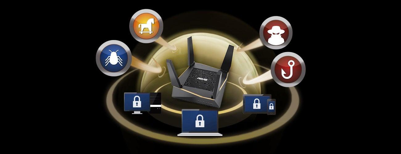 System Mesh Wi-Fi ASUS RT-AX92U 2 szt.