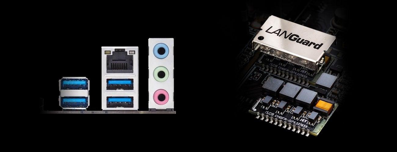 ASUS B250 MINING EXPERT Intel Gigabite Ethernet LANGuard